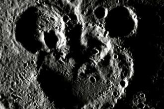 Na Merkuru nalezen Mickey Mouse