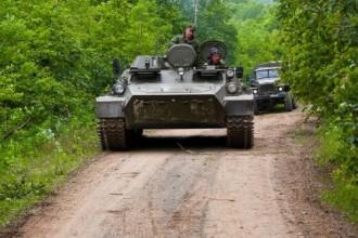 Ruskou vojenskou techniku ochrání plastový pancíř.