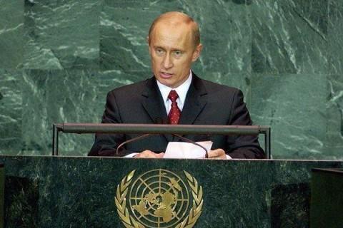 """Stane se Putin vítězem """"souboje Titánů"""" v OSN?"""